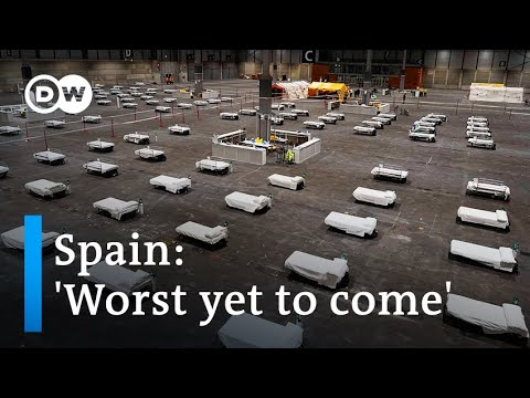Coronavirus update: Spain rushes to build hospitals as cases surge   DW News