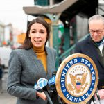 AOC and Schumer blasted for 'photo op' in top coronavirus ZIP code