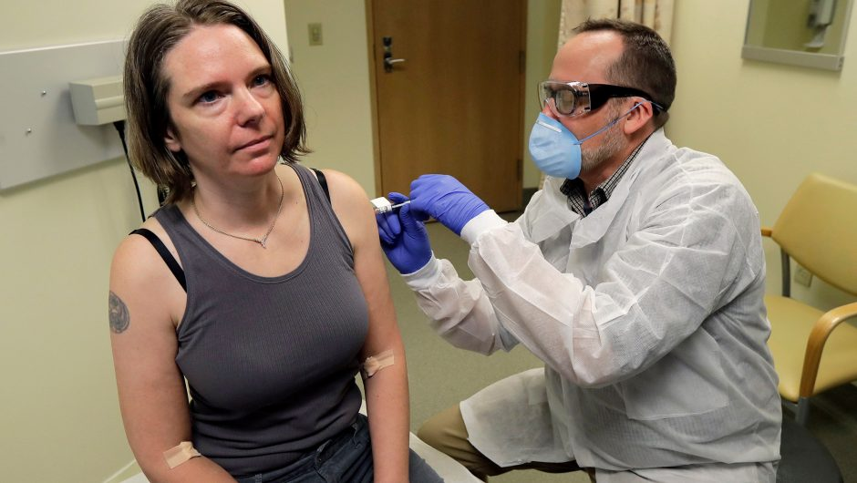 World's first person to trial coronavirus vaccine describes experience