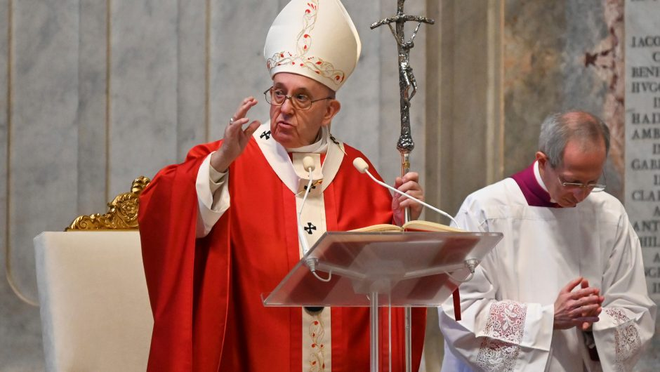 Pope says coronavirus could be a reaction to climate change