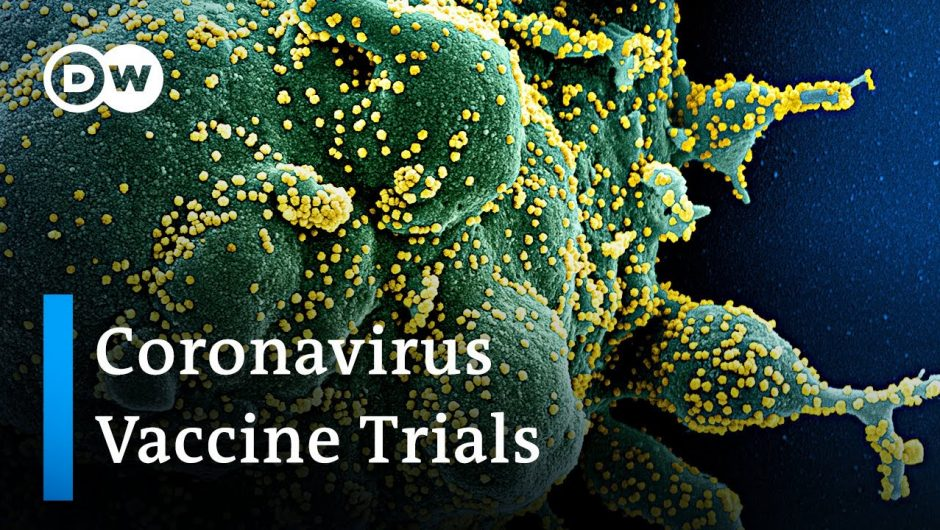 Coronavirus Update: Global race to develop a vaccine enters next stage | DW News