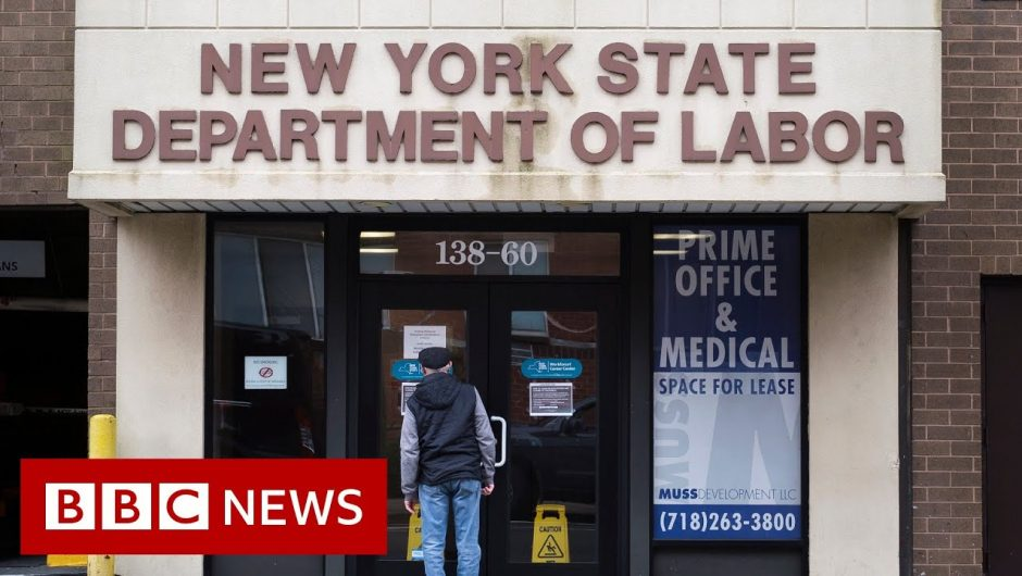 Coronavirus: US unemployment claims hit 26.4 million amid virus – BBC News