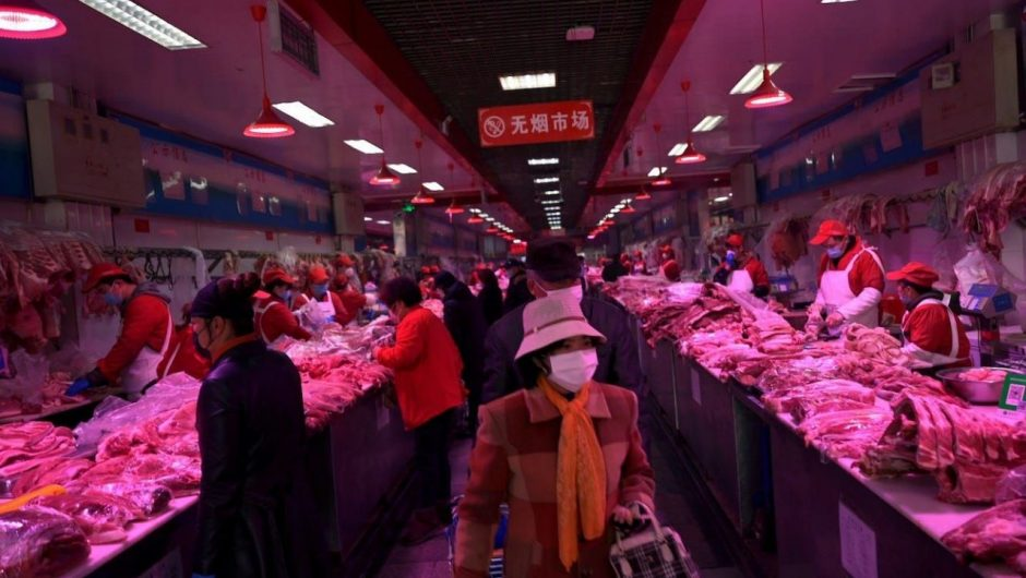 Beijing goes into 'wartime mode' and locks down after a spike in coronavirus cases emerge at a wholesale market
