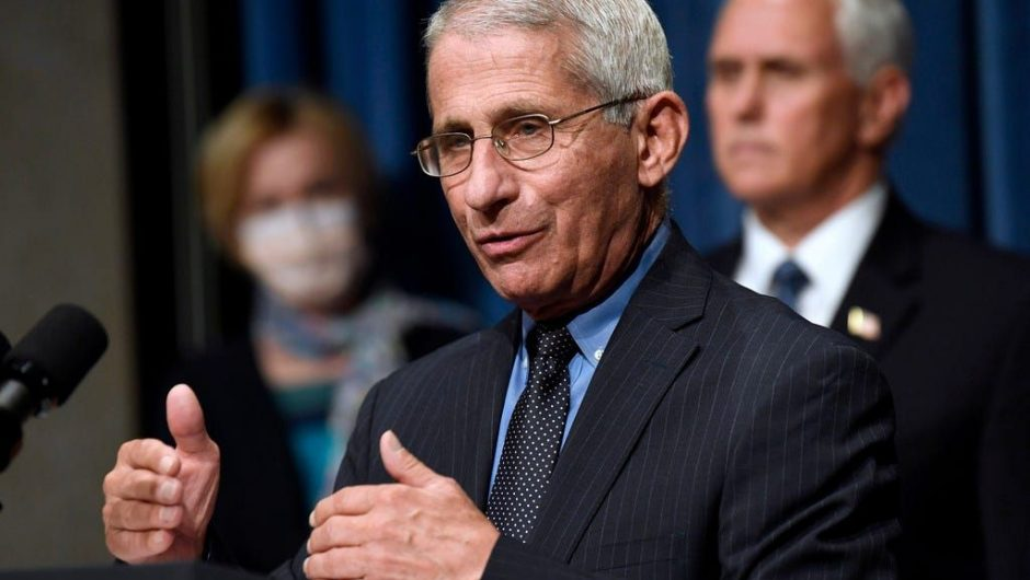 Fauci explains why he won't be getting on a plane amid COVID-19
