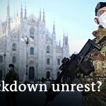 Ongoing coronavirus lockdown in Italy fuels fear of unrest | DW News