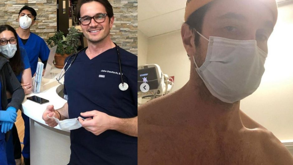 A New York doctor who recovered from COVID-19 and treated over 800 infected patients warns of overwhelmed hospitals that will feel 'like you're in a war zone'