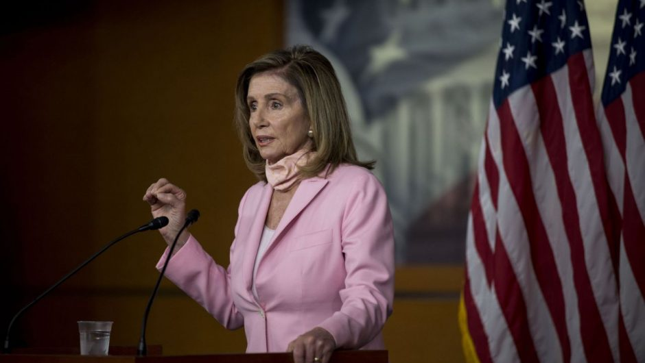 Pelosi says coronavirus relief talks at 'tragic impasse' after first call with White House in weeks