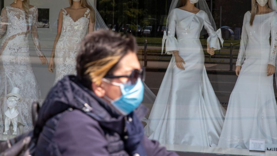 A wedding reception spread coronavirus to 53 people, killing a woman who didn't attend the event