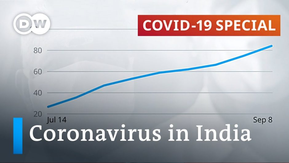India now coronavirus epicenter with 90,000 daily cases | DW News