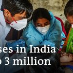 Coronavirus India: Professionals flee cities as case numbers soar | DW News