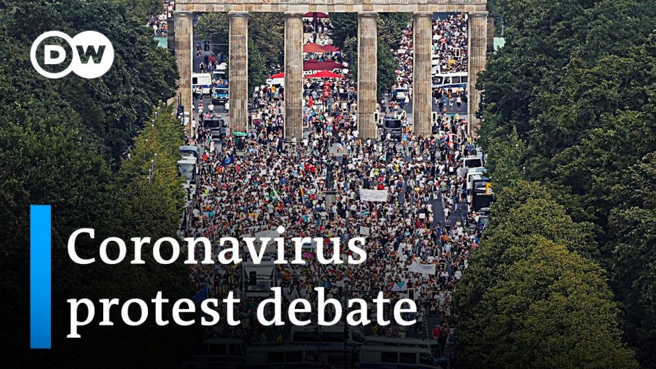 Politicians angry over coronavirus protest in Germany | DW News