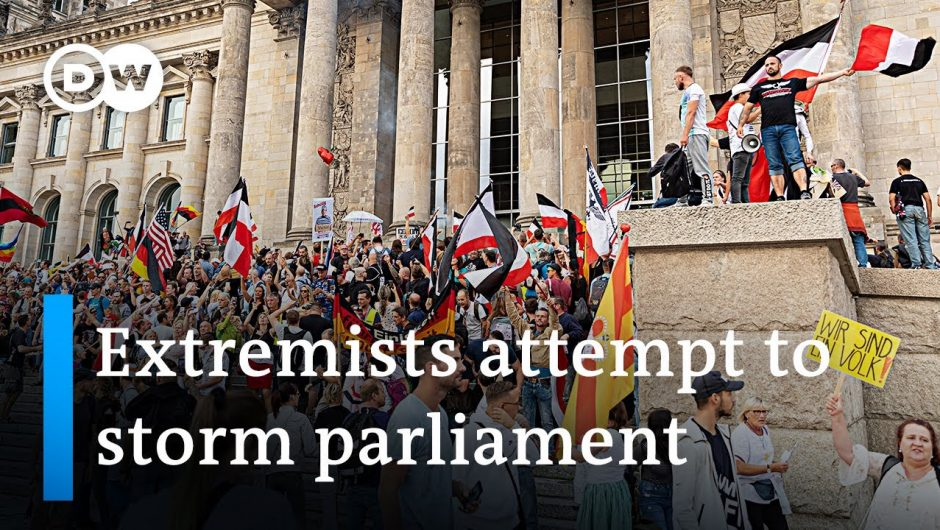 Germany shocked by far-right protesters trying to enter Parliament   DW News
