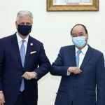 Trump's national security advisor and his entourage were said to be treated as 'human petri dishes' in Vietnam, as the US COVID-19 outbreak worsens every day
