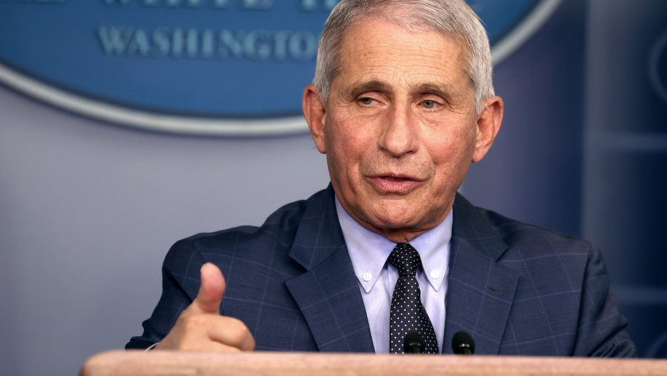 Anthony Fauci says COVID-19 vaccines are safe, not rushed