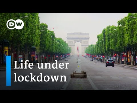 Lockdown diary: How the coronavirus changed everyday life in France | Focus on Europe