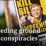 Conspiracy protesters trouble Germany   DW News