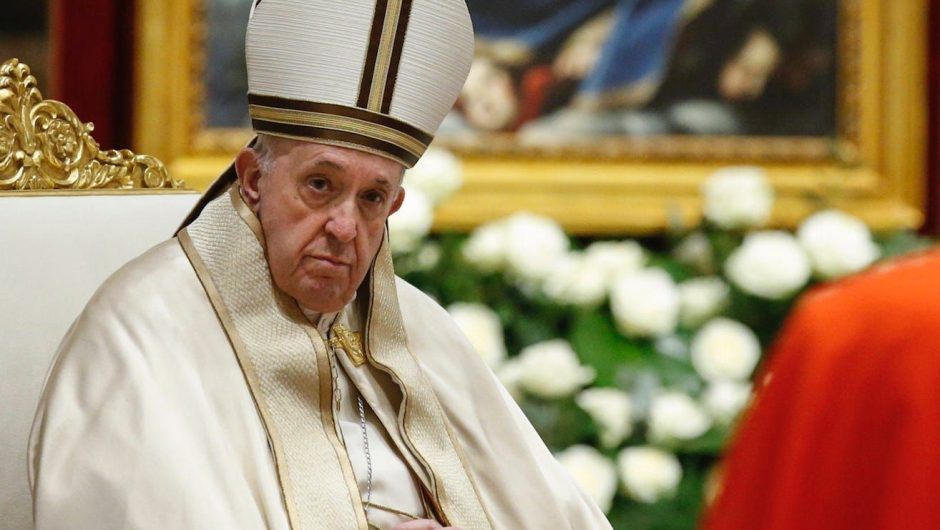 The Pope condemned people traveling abroad 'for their own pleasure' amid COVID-19 lockdowns
