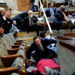 Congress members may have been exposed to COVID-19 while in lockdown during Capitol riot