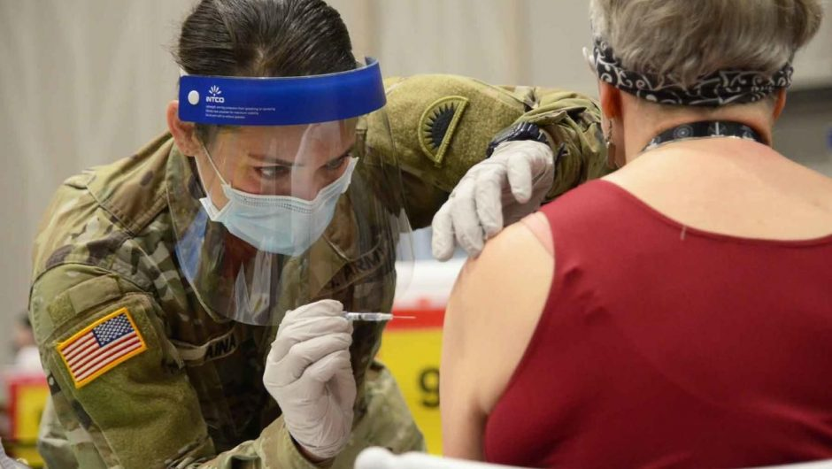 Active-Duty Troops May Help with Nationwide COVID-19 Vaccine Distribution
