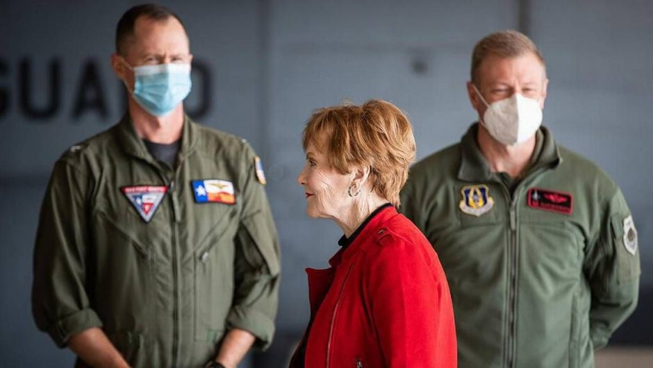 Where's your mask, Kay Granger? You and Joe Biden should be coronavirus role models