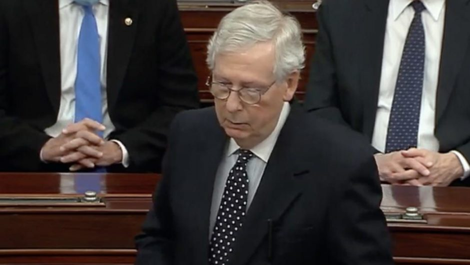 McConnell and the GOP are preparing a barrage of budget amendments to water down Biden's COVID-19 stimulus package
