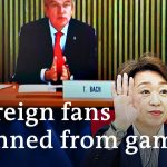 Earthquake adds insult to decision to ban fans from Tokyo Olympics | DW News