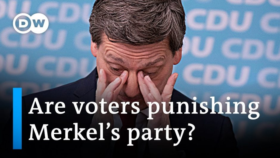 Germany's conservatives are losing votes amid corruption scandal | DW News