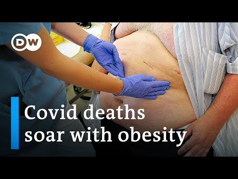 Covid death rate 10 times higher in countries with high obesity | DW News