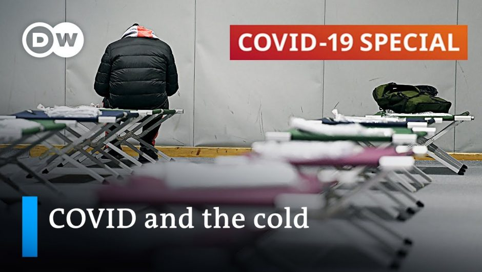 How homeless people struggle with coronavirus and harsh weather conditions | COVID-19 Special