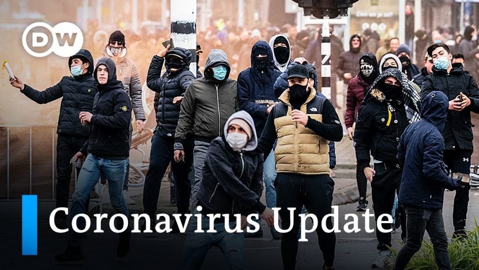 Germany fears attacks on vaccination centers +++ COVID restrictions spark riots in the Netherlands