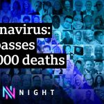 How did the UK get to 100,000 coronavirus deaths? – BBC Newsnight