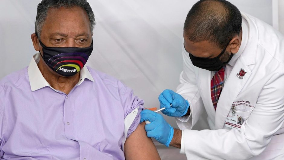 Jesse Jackson, wife hospitalized after testing positive; Pfizer vaccine could win FDA approval soon: Live COVID-19 updates