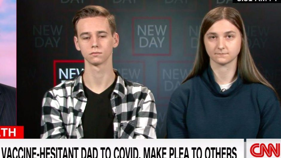 The daughter of an unvaccinated man who died of COVID-19 says Tucker Carlson and misinformation 'played a role' in his vaccine hesitancy