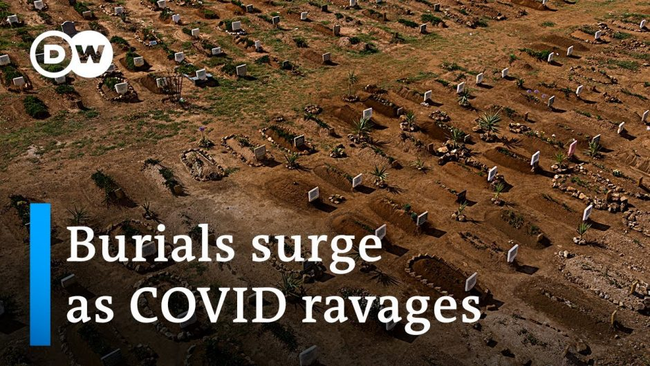 COVID-19's third wave causes havoc in South Africa | DW News